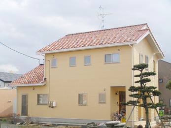 外壁に合った綺麗な色合いの屋根にしていただきありがとうございました。