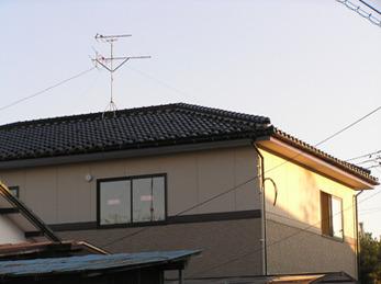 雨漏りの心配のない長持ちする屋根にしていただき安心しました。
