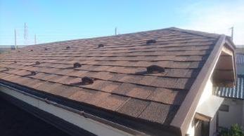 従来の屋根が傷みだして、大工事になる前に小さな補修で済み、思い切って決断をして良かったと思います。